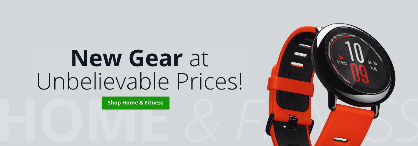 New Gear at Unbelievable Prices!